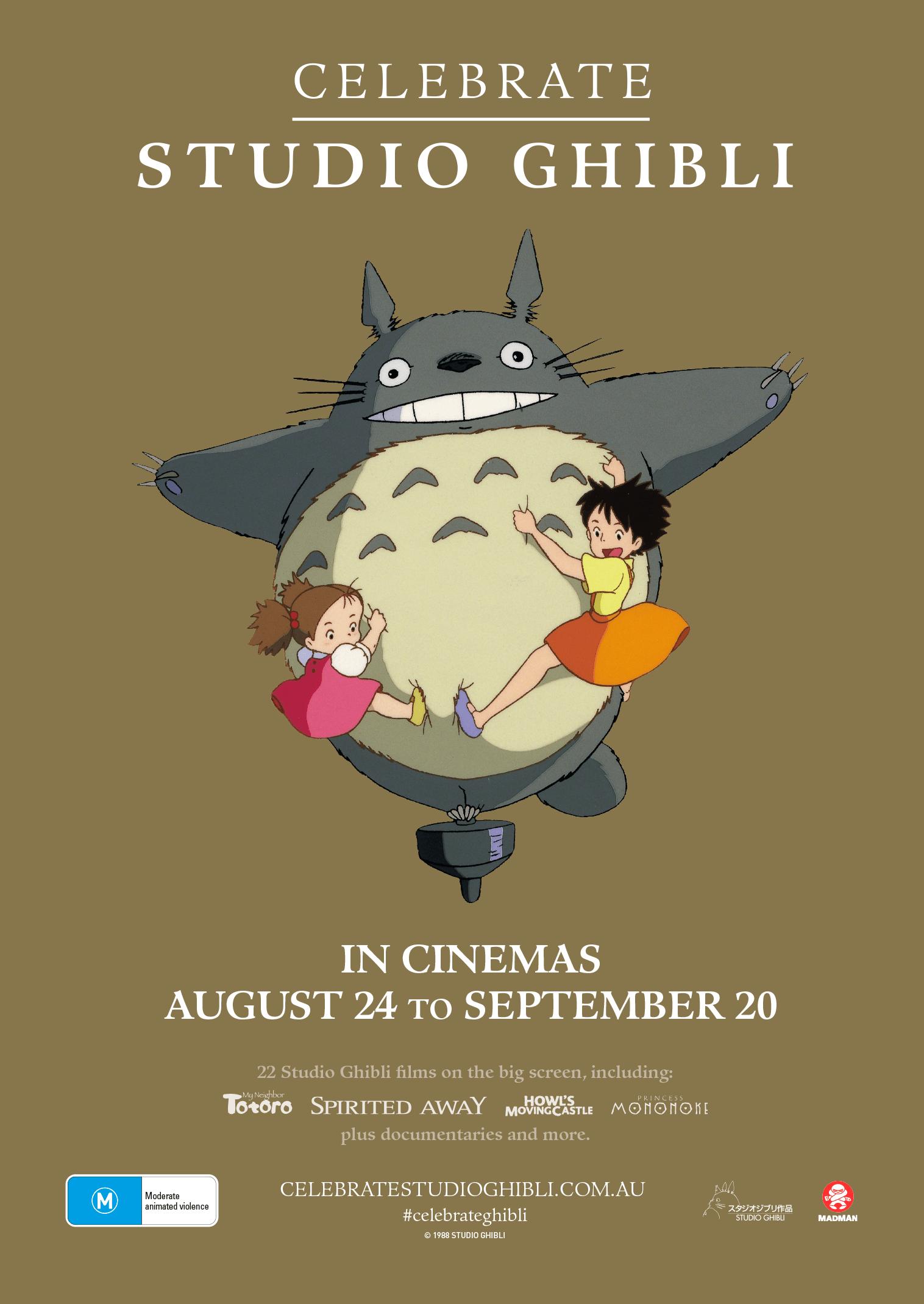 All Studio Ghibli Films Headed Back To The Big Screen For Celebrate