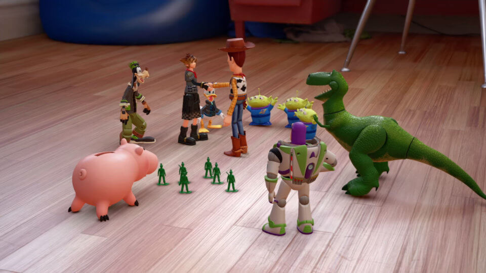Kingdom Hearts 3 Trailer Toy Story Kingdom Hearts 3 Preview Kingdom Hearts 3 Review
