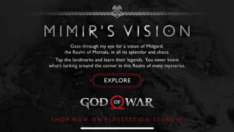 God of war mobile app