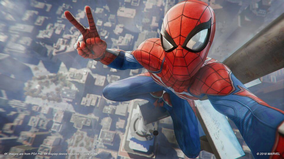 Marvel's Spider-Man Review Spider-Man PS4 Release Date