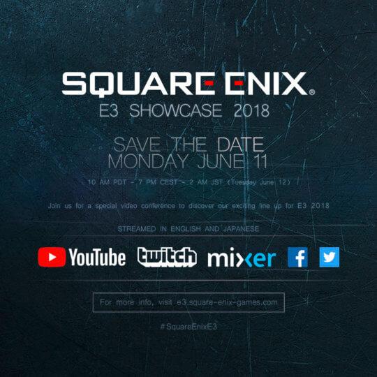Square Enix E3 Conference
