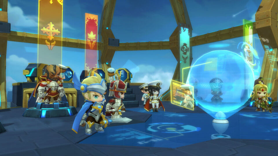 MapleStory 2 Expansion